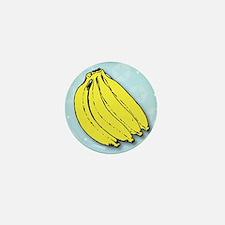 Banana bunch thank you greeting cardg Mini Button