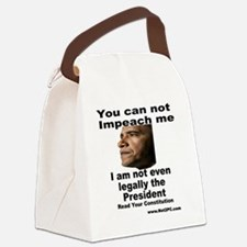 impeachme.gif Canvas Lunch Bag
