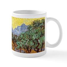 Van Gogh Olive Trees Wraparound Small Mugs
