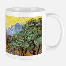 Van Gogh Olive Trees Wraparound Small Mugs