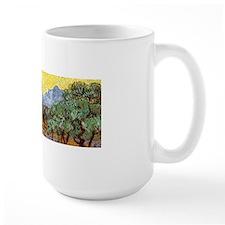 Van Gogh Olive Trees Wraparound Ceramic Mugs