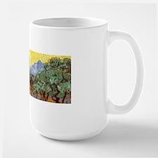 Van Gogh Olive Trees Wraparound Large Mug