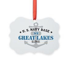 IL Great Lakes 1 Ornament