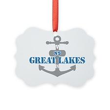 IL Great Lakes 2 Ornament