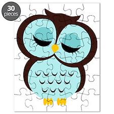 aqua owl Puzzle