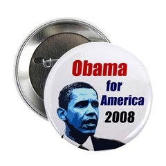 10 Obama for America 2008 Pins
