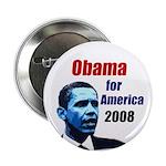 Obama for America 2008 Button