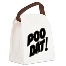 poodat Canvas Lunch Bag