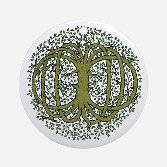 Celtic Tree of life Ornament (Round)
