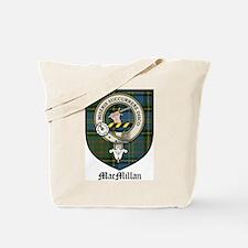 MacMillan Clan Crest Tartan Tote Bag
