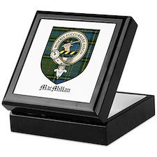MacMillan Clan Crest Tartan Keepsake Box