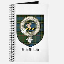 MacMillan Clan Crest Tartan Journal