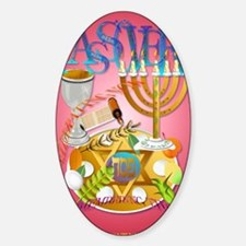 LargePoster Pass Over Seder Decal