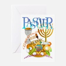 Passover Seder Trans Greeting Card