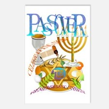 Passover Seder Trans Postcards (Package of 8)