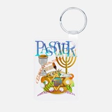 Passover Seder Trans Keychains