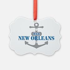 LA New Orleans NSA 2 Ornament