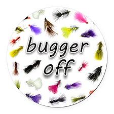 buggeroff Round Car Magnet