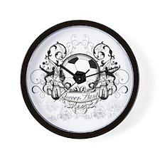 Soccer Aunt Wall Clock