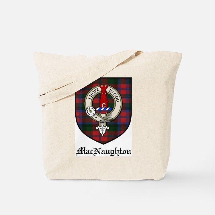 MacNaughton Clan Crest Tartan Tote Bag