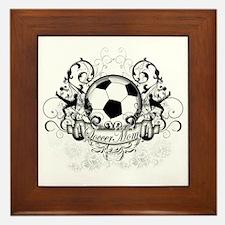 Soccer Mom Framed Tile