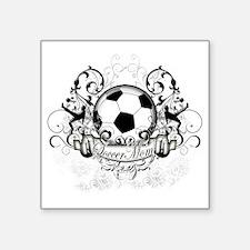 "Soccer Mom Square Sticker 3"" x 3"""