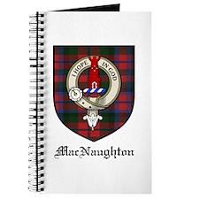 MacNaughton Clan Crest Tartan Journal