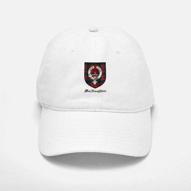 MacNaughton Clan Crest Tartan Baseball Baseball Cap