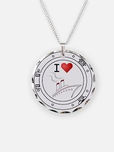 IHeartCruiseShips2 Necklace