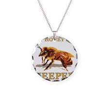 My Honey Is A Keeper Necklace Circle Charm