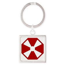 8th Army - South Korea - EUSA Square Keychain