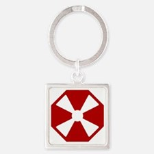 8th Army - South Korea - EUSA Square Keychain