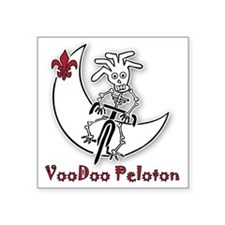 "VooDoo-Logo-1857x2000 Square Sticker 3"" x 3"""