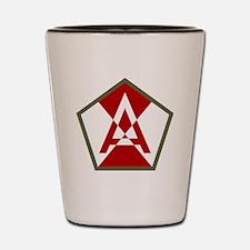 15th Army Shot Glass