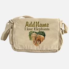 ELEPHANT LOVE Messenger Bag