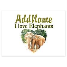 ELEPHANT LOVE Invitations