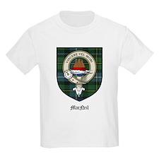 MacNeil Clan Crest Tartan Kids T-Shirt
