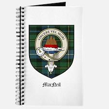 MacNeil Clan Crest Tartan Journal
