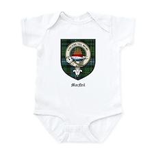 MacNeil Clan Crest Tartan Infant Bodysuit