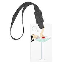 burlesque martini Luggage Tag