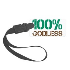 100godless-01 Luggage Tag