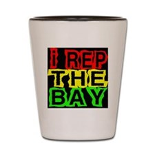 I REP THE BAY --T-Shirt Shot Glass