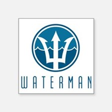 "watermanlogo1 Square Sticker 3"" x 3"""