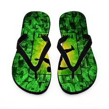 mar11_green_disc_golf Flip Flops