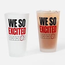 Friday art copy Drinking Glass