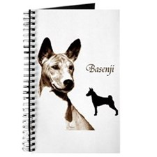 Cute Basenji Journal