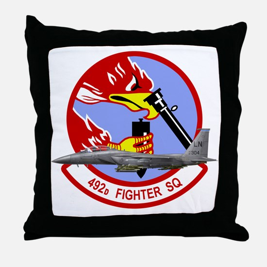 492fs_f15 Throw Pillow