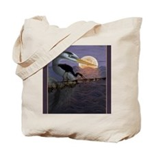 Blue_Moon_KlineSq Tote Bag