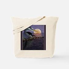 Blue_Moon_KlineSq Tote Bag