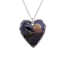 Blue_Moon_KlineSq Necklace Heart Charm